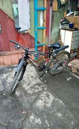 Велосипед с дисковыми тормозами, 21 скорость