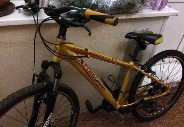 """Велосипед горный Форвард цвет золотой, рама 15"""""""