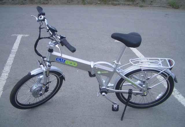 Электровелосипед Электро Патрол Cardan 24