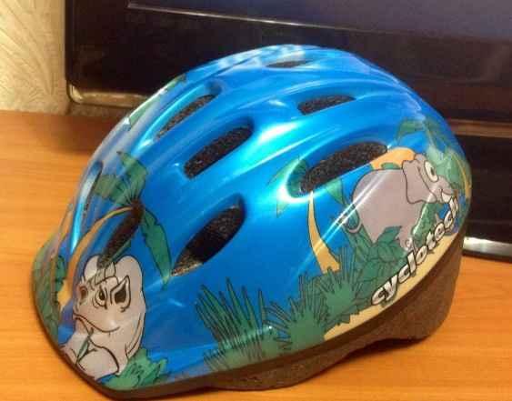 Детский Шлем Cyclotech д/роликов велосипе(обмен)