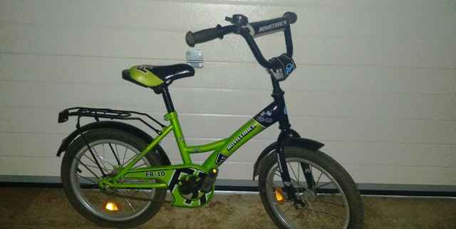 детский велосипед novatrack FR-10