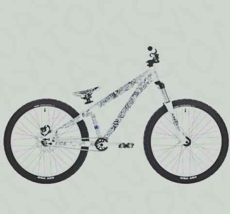 велосипед катался только один год.В хорошем