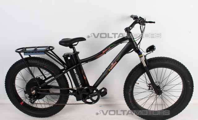 Мощный Электровелосипед FAT Байк 48V 2500W