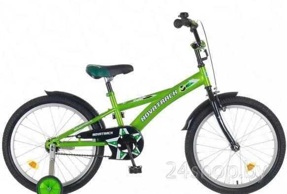 Велосипед от 5 лет novatrack Delfi 20