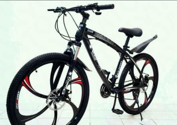 Велосипед БМВ- на литых дисках