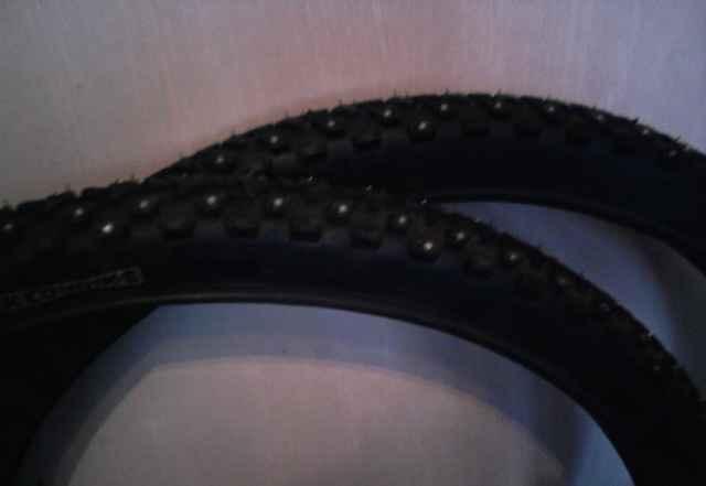 Новая зимняя велорезина Kenda Klondike 26x1.95