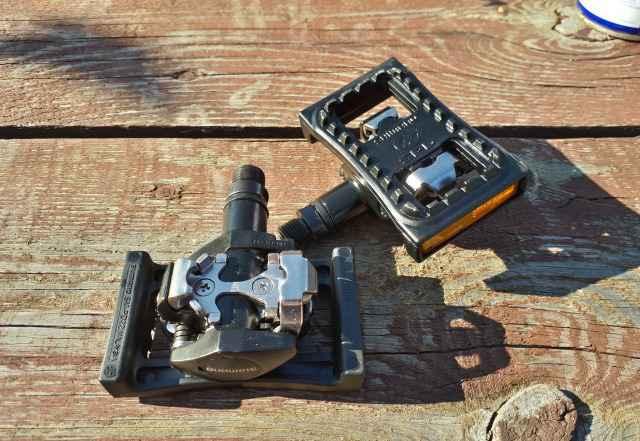 Контактные педали Shimano PD-M505