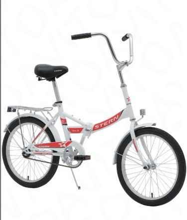 Удобный складной велосипед