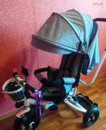 Новый, очень удобный велосипед-коляска