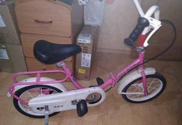 Велосипед велик Дружок для малышей 3-5 лет