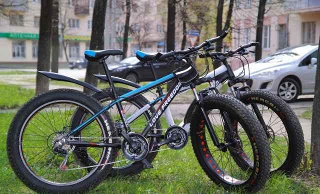 Фэтбайк / fatbike 26 колеса 4 дюйма