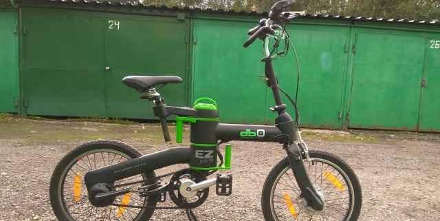 Электровелосипед складной EZ-PRO DB0-3