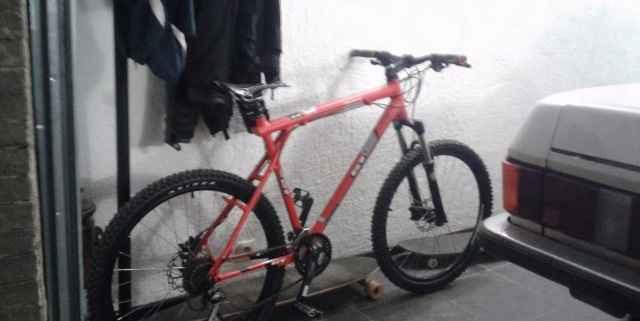 велосипед ГТ собранный на закпз