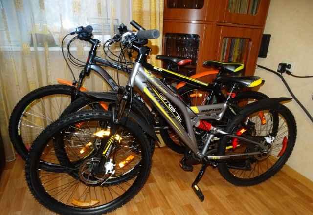 3 Горных велосипеда, дисковые тормоза,гидравлика