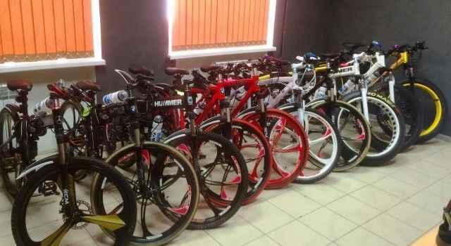 Новые велосипеды на литых дисках, спицах, фэтбайки