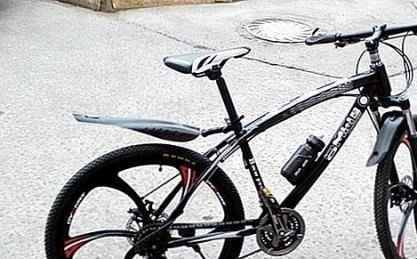 """Велосипед складной БМВ 26"""" 21 ск., блэк,блак/blue"""