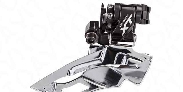 Shimano XT Фронт Derailleur FD-M781 Down Swing3x10