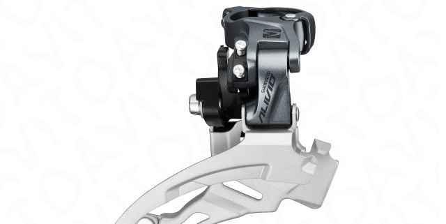 Shimano Alivio FD-M4000 Down swing 3x9 Перекл. пер