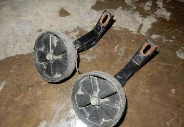 Дополнительные (боковые) колёса для велосипеда