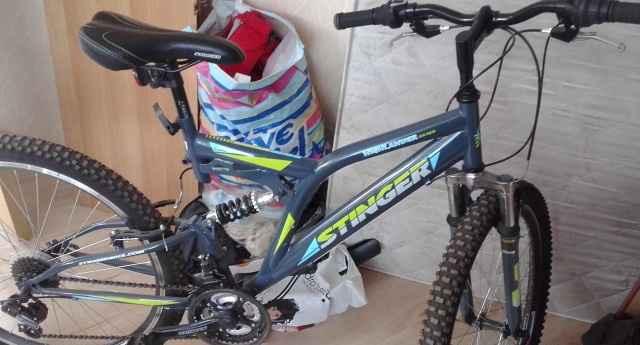 """Велосипед Стингер sx100,26"""" колёса,18 скорос.новый"""