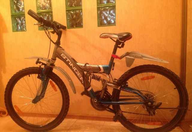 Горный велосипед Стингер tech1700 18 скоростей