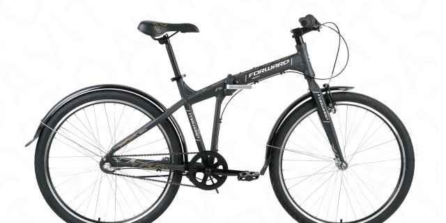 Складной городской велосипед