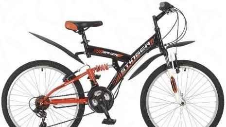 "Велосипед Стингер banzai. Колеса 24, 26"""