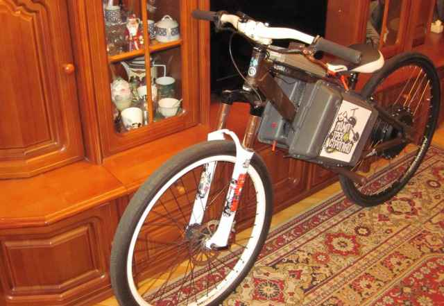 Электровелосипед 100 км/ч