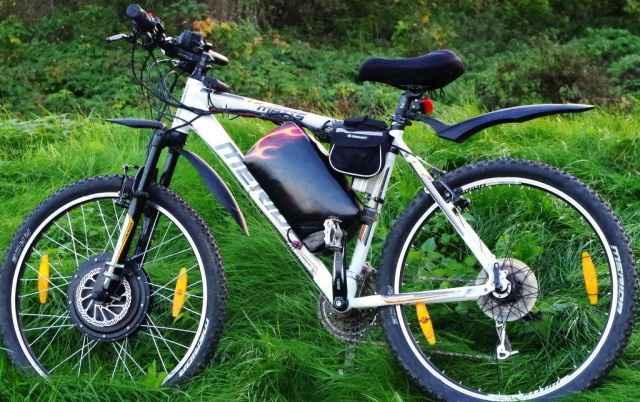 Электровелосипед горный eBikePro 200