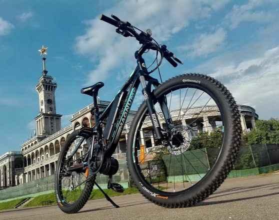 Электровелосипед двухподвесный eBikePro Ласточка