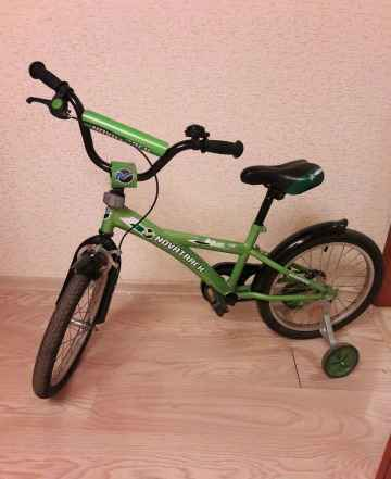 Велосипед детский Novatrack Delfi для 6-8 лет унис