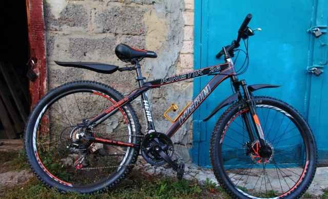 Горный велосипед Heam Kinetik 26 Disk Новый