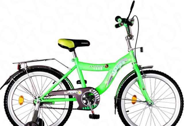 Детский велосипед Novatrack Bagira 16''