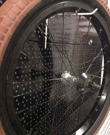 Переднее колесо на BMX