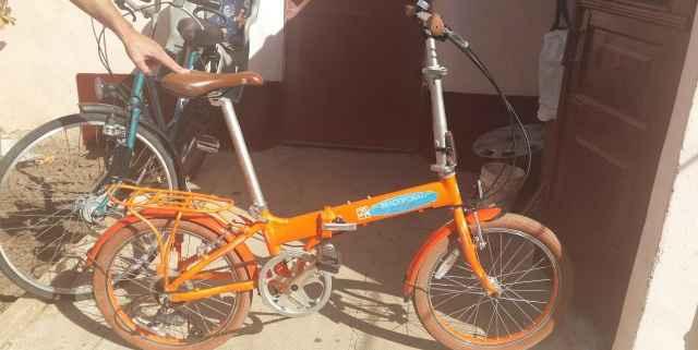 Складной алюминиевый качественный велосипед