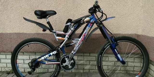 Велосипед-самодельный