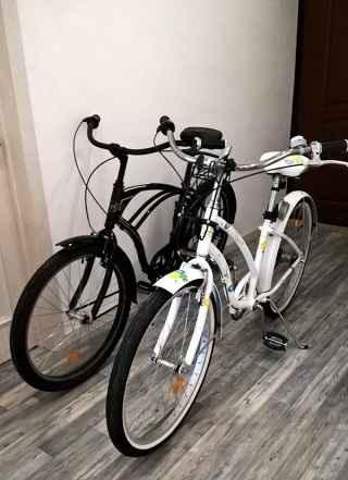 женский велосипед Stern Cruise белый, б/у