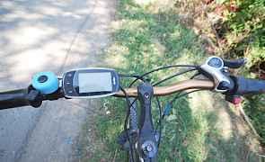 Горный электровелосипед Wellness Кросс Rack 750