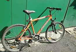 Горный велосипед автор author оранжевый