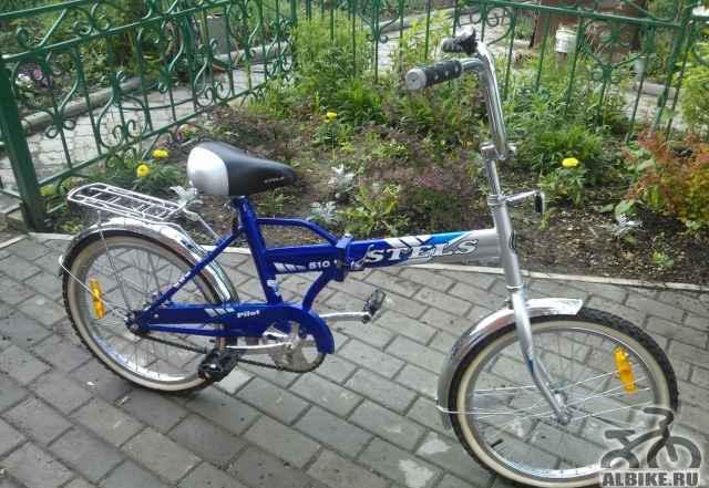 Складной велосипед Стелс Пилот