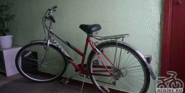Велосипед с широким седлом