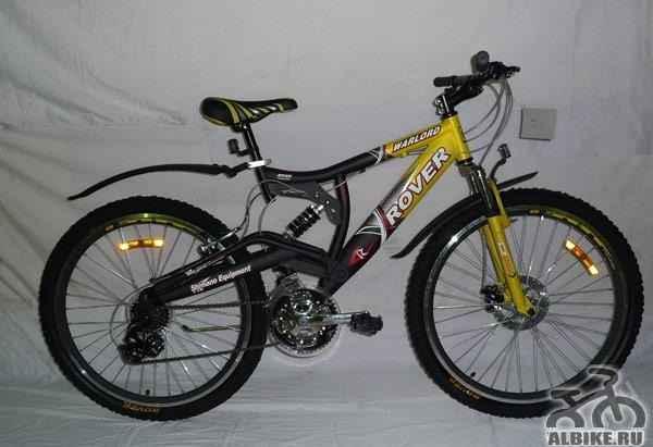 Велосипед warlord ровер