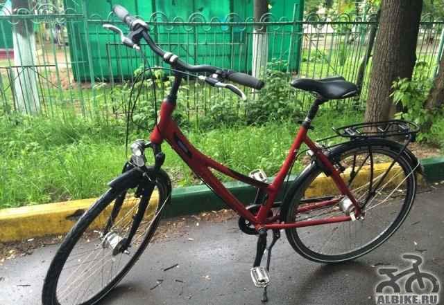 Женский городской велосипед helkama (новый)