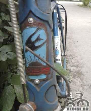 Спортивный велосипед, сделан в СССР
