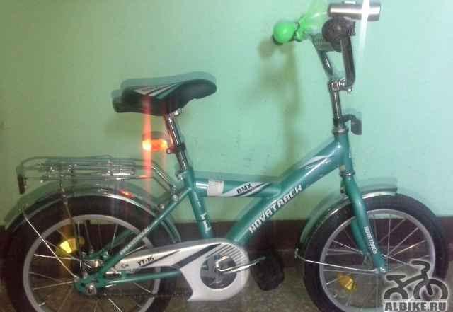 """Детский велосипед Novatrack BMX 18"""" от3-9лет Новый"""
