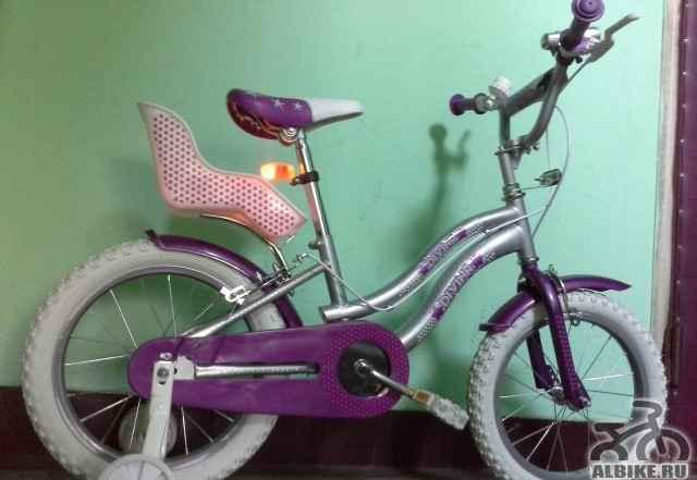 """Велосипед детский Трек Divina 18"""" от 3-9лет новый"""