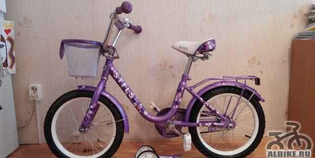 Детский велосипед 4-7лет б/у