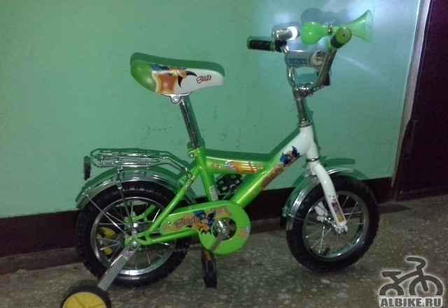 """Велосипед детский Zippy 12"""" От 2 до 5 лет Новый"""