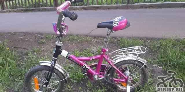 Детский велосипед novatrack FR-10 12 (почти новый)