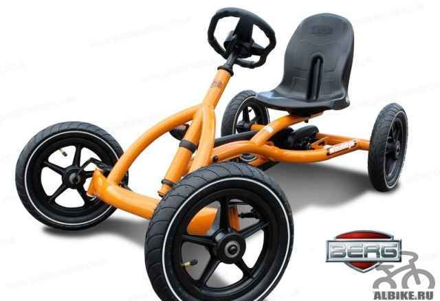 Berg Buddy Orange веломобиль для детей 3-8 лет